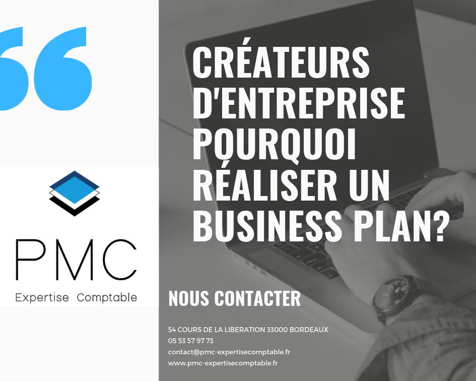 Créateurs d'entreprise pourquoi réaliser un business plan_