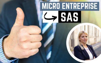 Du statut de micro-entreprise à SAS