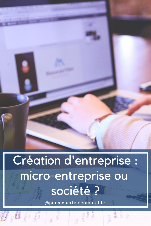 Micro-entreprise ou société ?