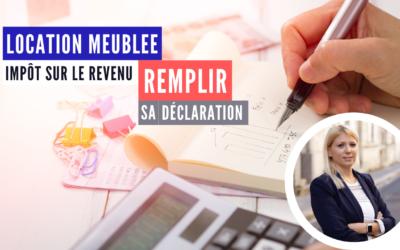 LMNP : déclaration d'impôt sur le revenu