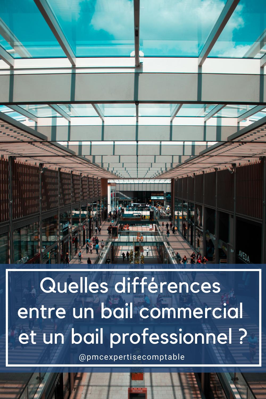 Bail commercial vs professionnel